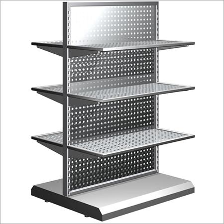 Steel Departmental Shelves Rack