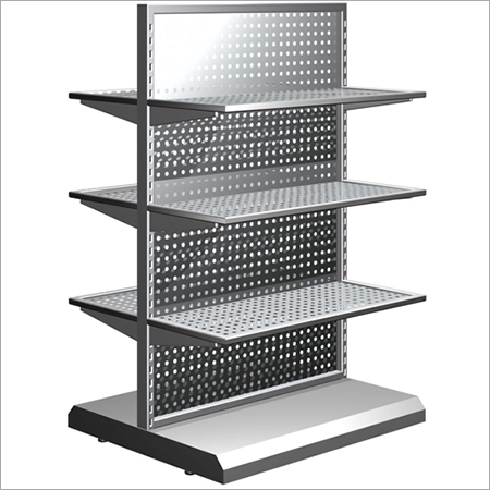 Steel Departmental Shelves Rack