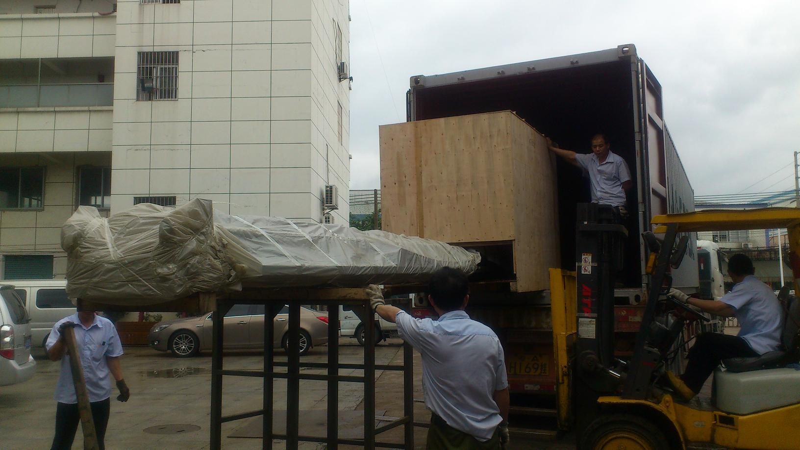 3 Axis CNC Machine for Curtain Wall