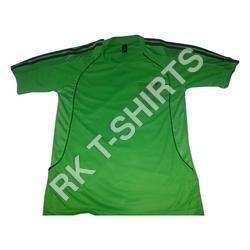 Green Plain T-Shirts
