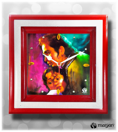 Digital Print Bollywood Posters Wall Clock