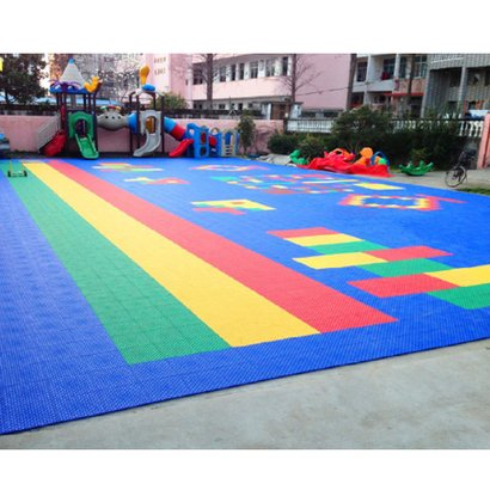 Children Play Area Court