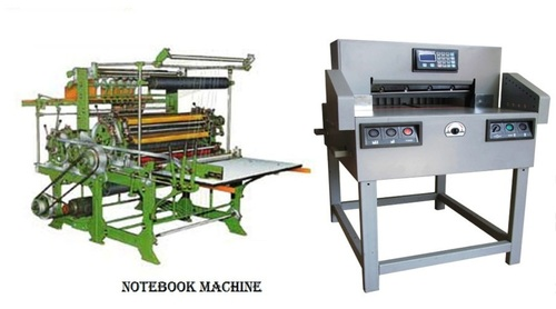 NEW BRAND EXCERSISE NOTE BOOK MAKING MACHINE URGENT SELLING IN LAKNOW U.P