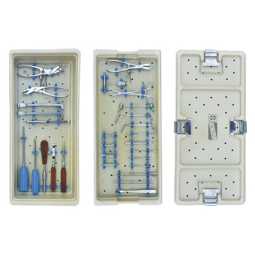 Small Fragment Instruments Set for Locking Screws With Graphic Box