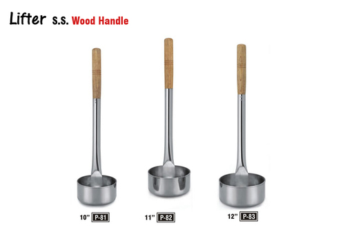 SS Wood Handle Lifter