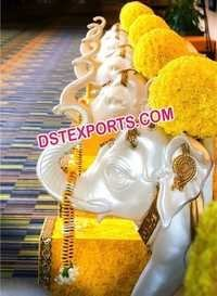 Indian Wedding Decor Elephant Statues