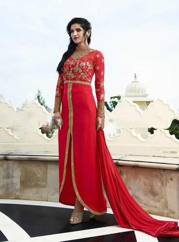 Wonderful Embroidered Party suit