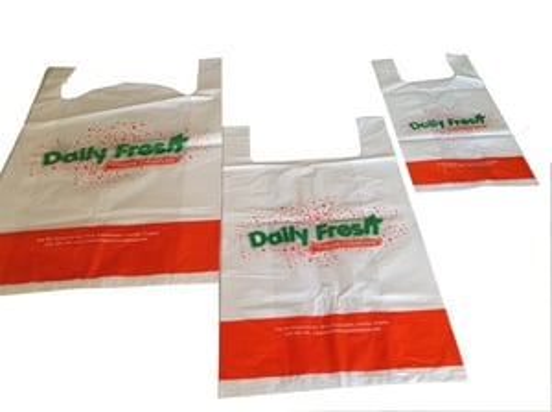 HM Printed Carry Bag