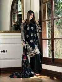 Black Lovely Georgette Pakistani Style Suit