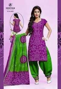 deeptex bandhani Printed Dress Material
