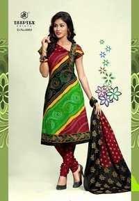 Latest Bandhni Dress Material