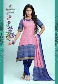 deeptex bandhani Cotton Printed Dress Material