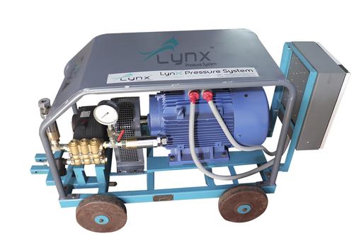 500 BAR Motorized Hydrostatic Pressure Test Pumps
