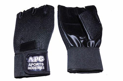 Apg Black Net Gym Gloves