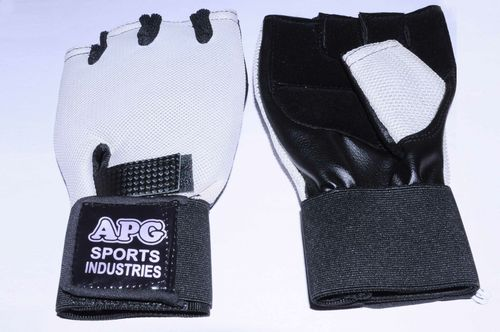 Apg White Net Gym Gloves
