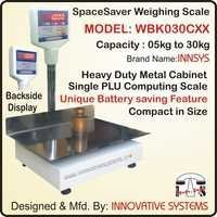 Spacesaver Weighing Scale