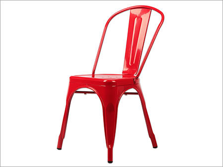 Iron Red Chair