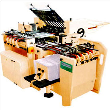 Semi Automatic Book Folding Machine
