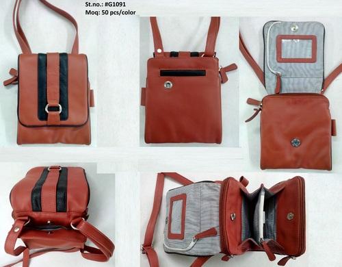 Napa Leather Crossbody Bag