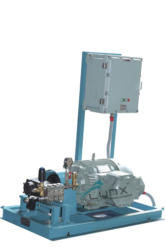 Electric Hydro Pressure Test Pump 150 BAR