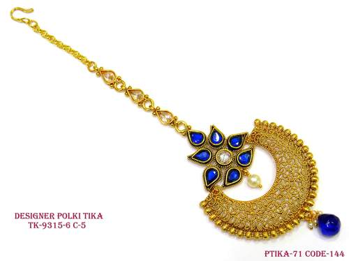 Blue Stone Chand Tika