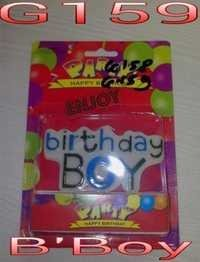 Birth Day Boy Candles