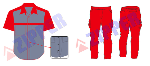 Technician Housekeeping Uniform