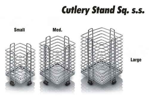 S S CUTLERY STAND SQUARE