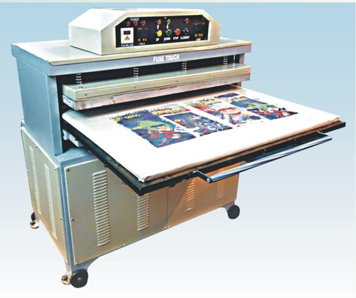 Sublimation Printing Machine With Railing System