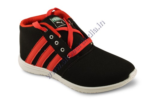 PVC Sole Canvas Shoes