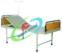 Hospital Bed With Built-In Backrest