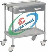 Dressing Trolley Steel with Drawer