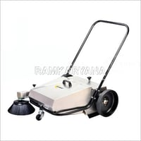 Manual Sweeper 40 LTR Heavy Duty (Stainless Steel)
