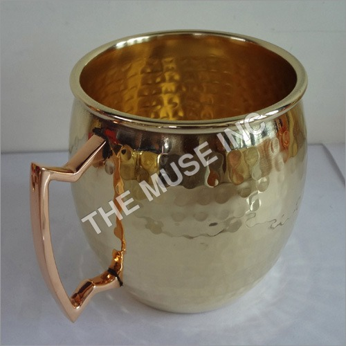 Gold Look Mugs