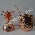 Copper Pineapple Mug