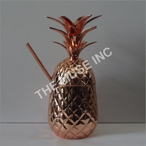 Copper Pineapple Cups