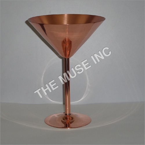 Antique Copper Goblet