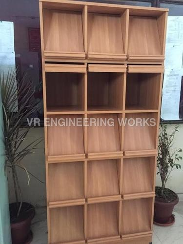 Wooden Book Racks