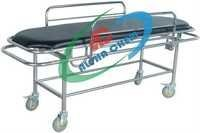 Stretcher on Trolley with Side Railings
