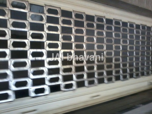 Grill Type Shutters