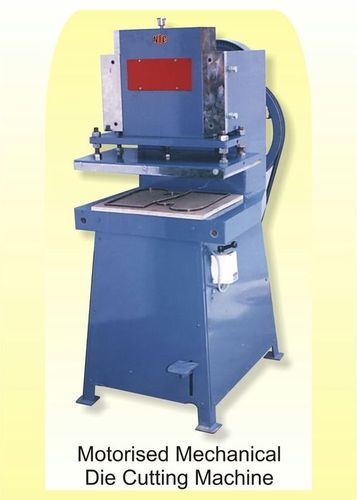 Motorised Mechanical Die Cutting Machine