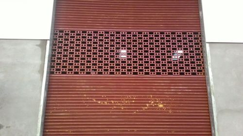 Partly grill Rolling Shutter