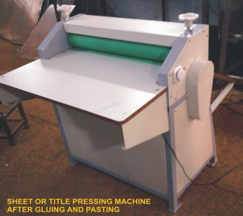 Sheet or Title Pressing Machine