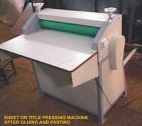 Sheet or Title Pressing Machine