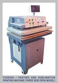 Fussing/Pasting and Sublimation Printing Machine