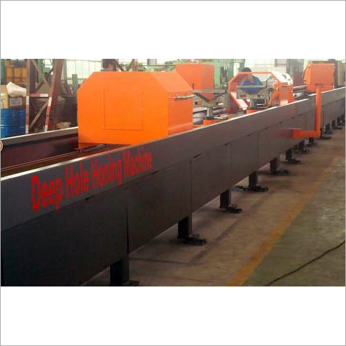 Horizontal Deep Hole Honing Machine