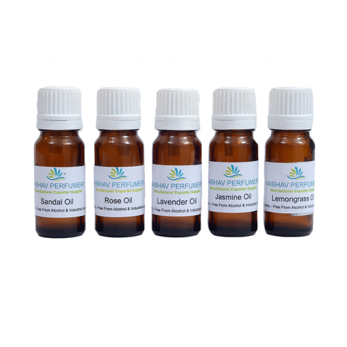 Essential oil Set of 10 ML x 05 Bottles