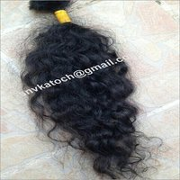 Unprocessed Natural Curly Single Donor Hair
