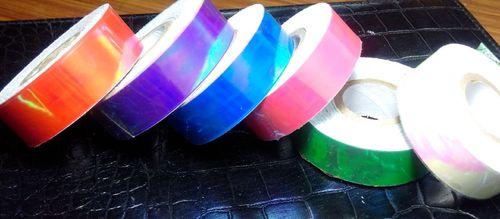 Iridescent Fluorescent Exotic Tapes