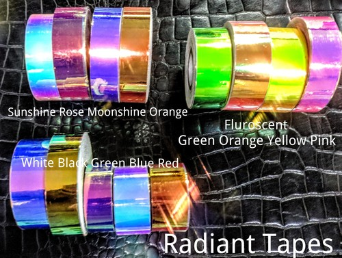 Iridescent Fluorescent Exotic Tapes